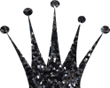 crown-glitter-black